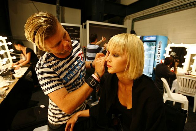 Backstage shots of fashion shows have been featured in countless Instagram accounts